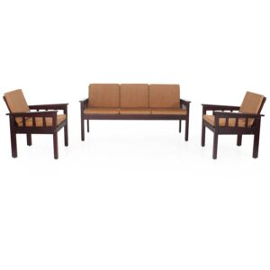 Portland Wooden Sofa Set With Cushion Jfa Furniture Chennai