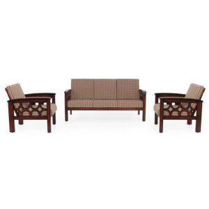 Diamond Wooden Sofa – 3-1-1 Set Jfa Furniture