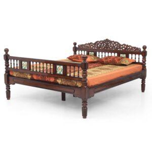 Chettinad Teak King Cot Jfa Furniture