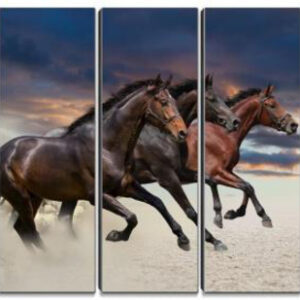 THE POWER OF STALLIONS PAINTING