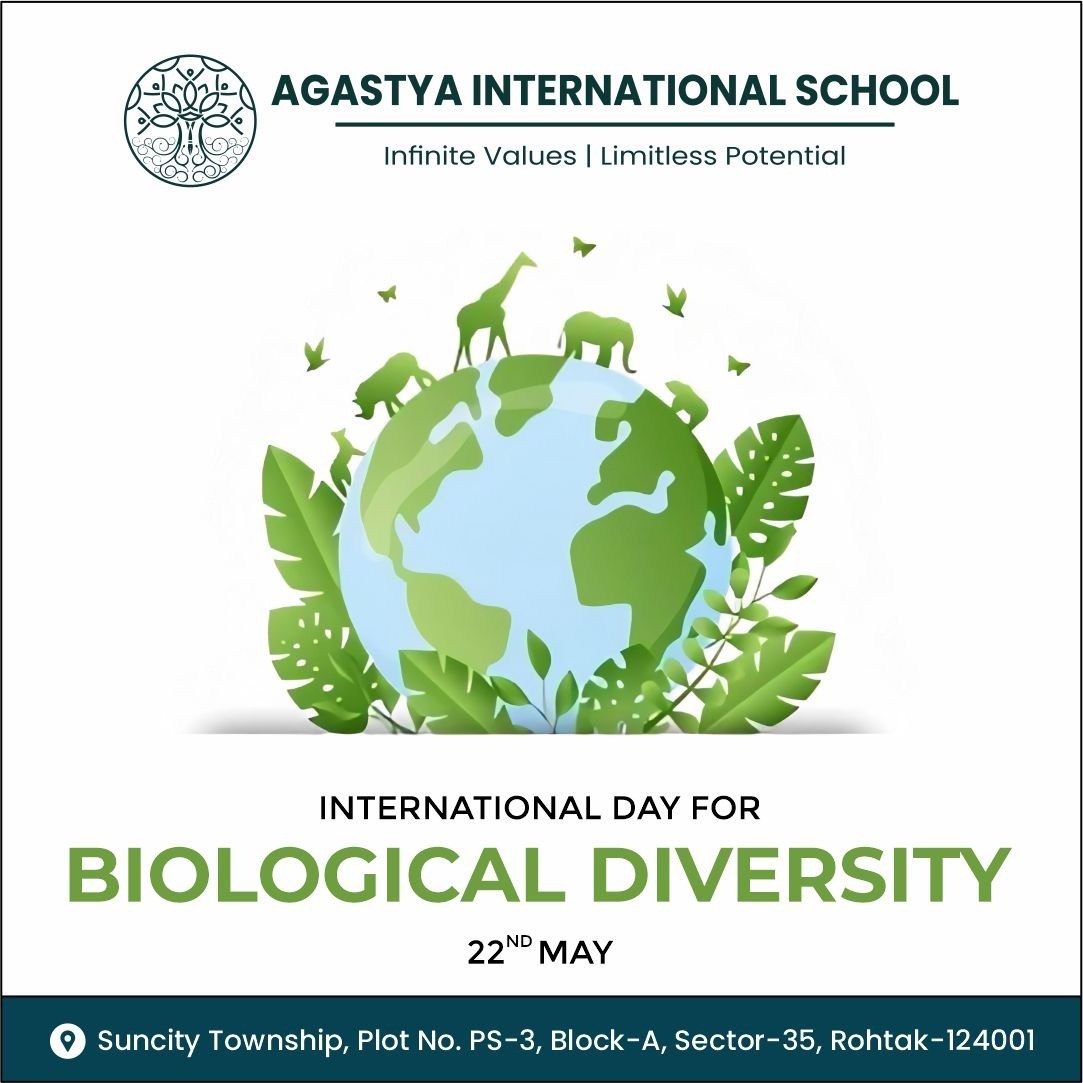 The International Day for Biological Diversity