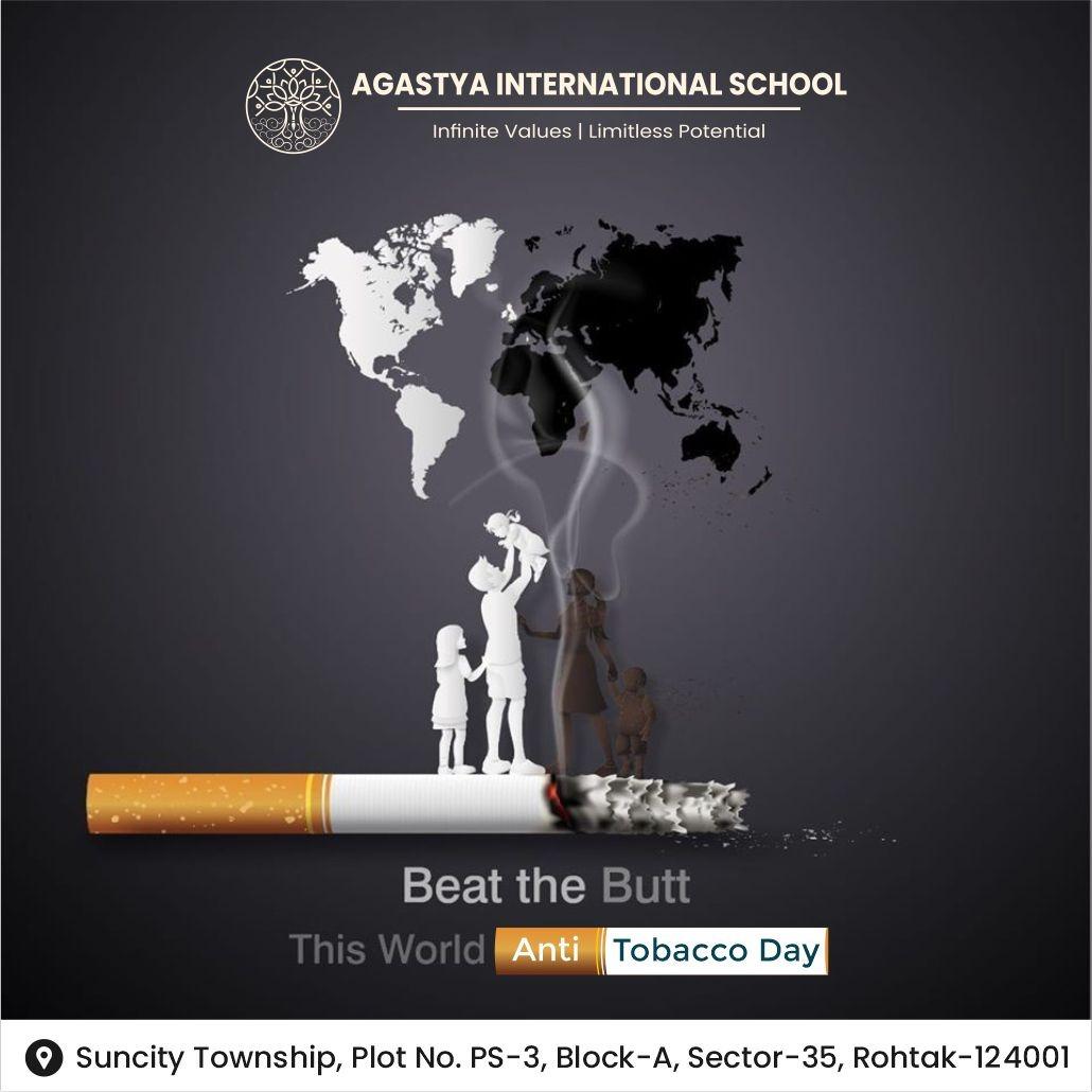World No Tobacco Day - May 31, 2021