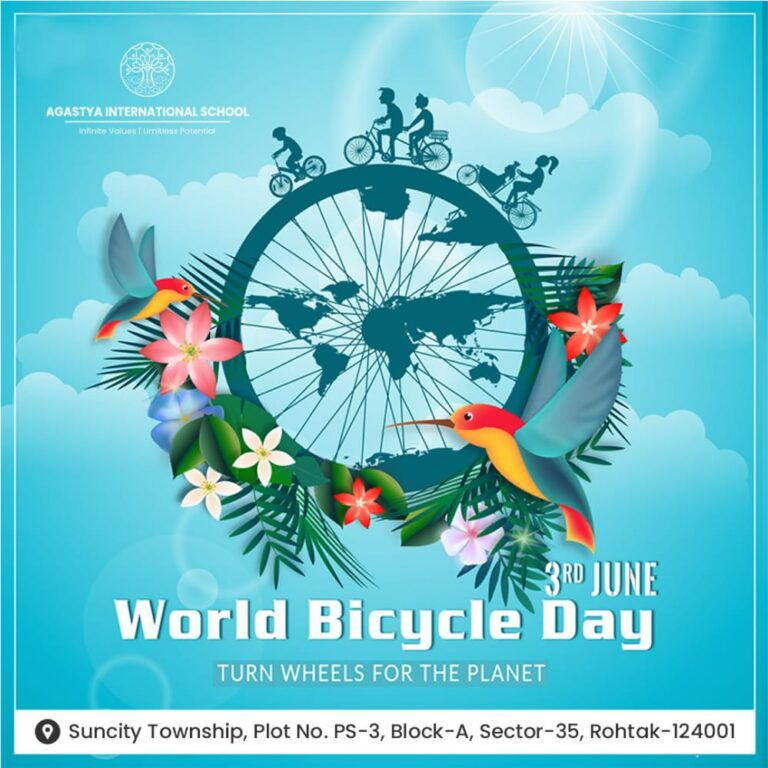 World Bicycle Day 3rd June 2021