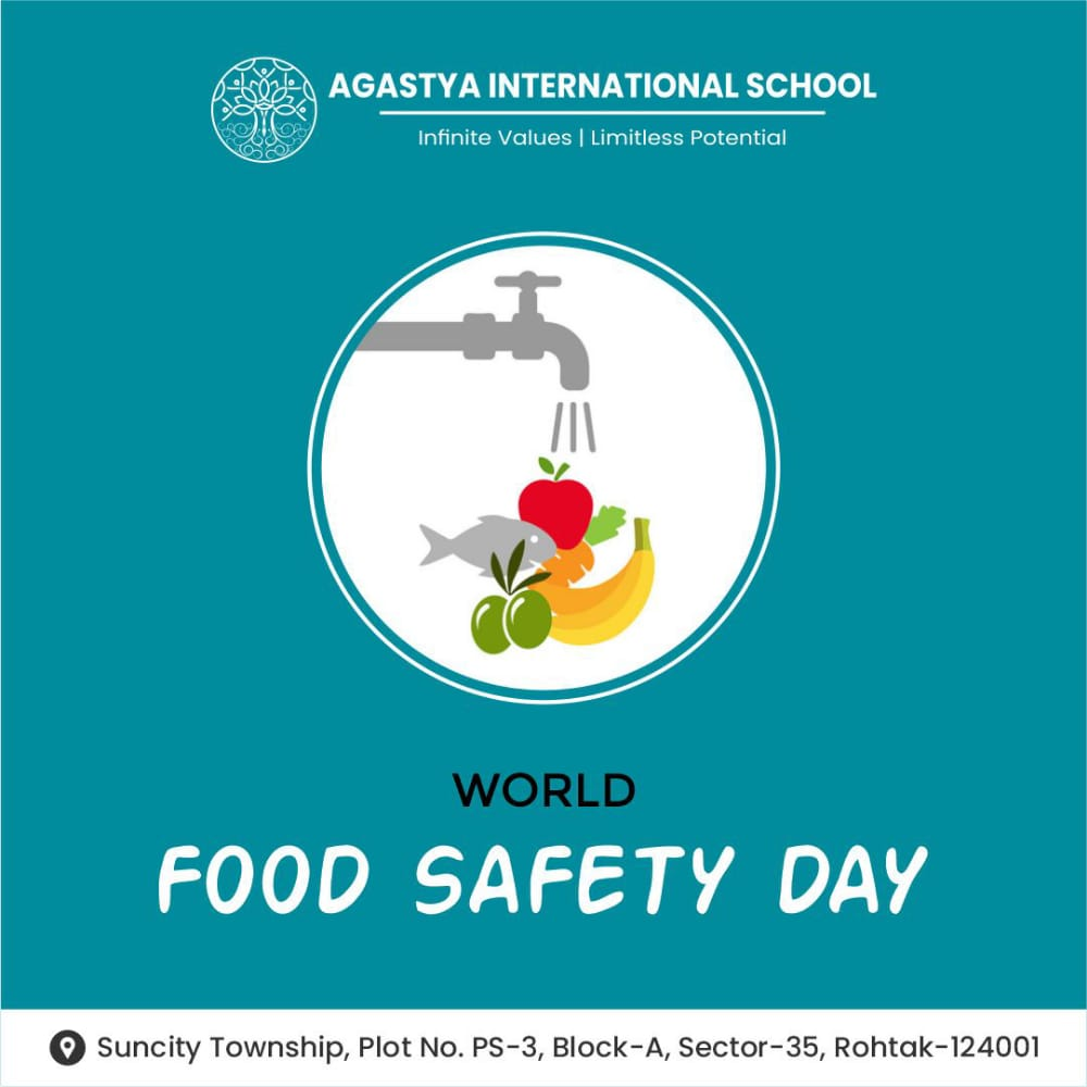 World Food Safety Day 7th June 2021