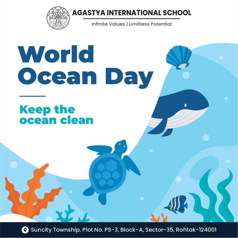 World Oceans Day 8 June 2021