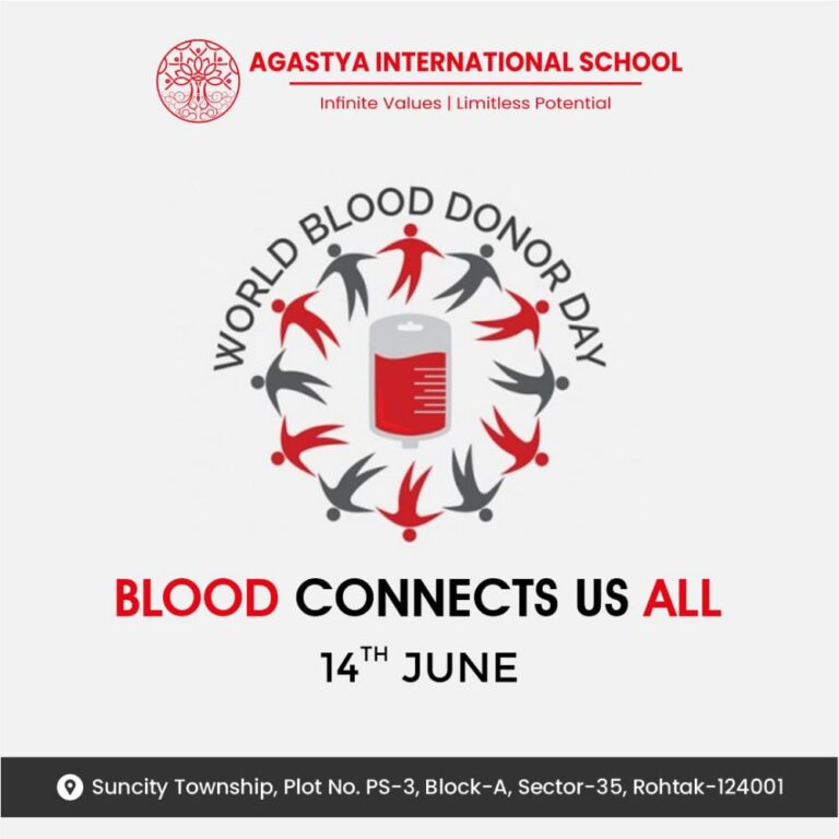 World Blood Donor Day 14th June 2021