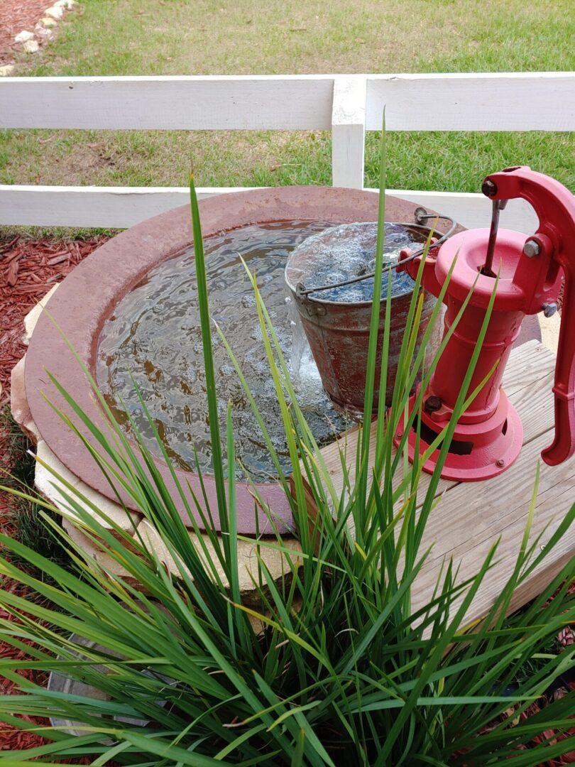Barn fountain
