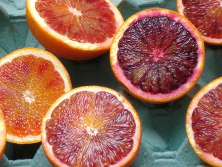 Blood Oranges a Winter Treat
