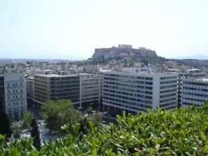Grande Bretagne views to Acropolis