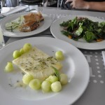 Lunch at the New Acropolis Museum Cafe