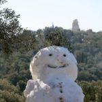 Rare Athens Snowman