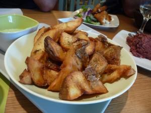 Perfect potatoes.