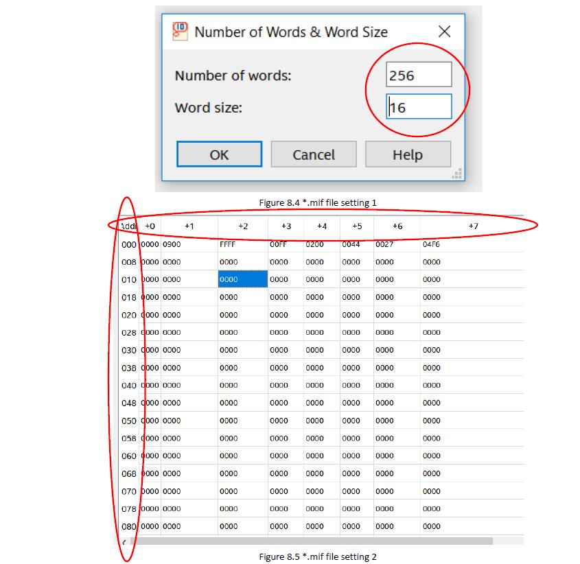 .mil file setting