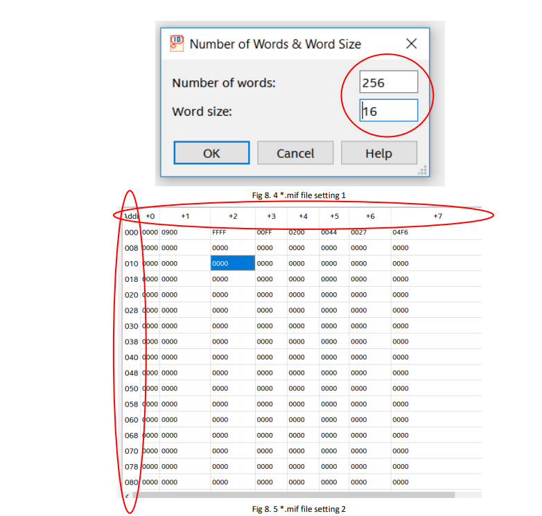 mif file setting