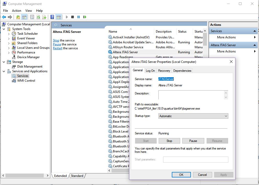 JTAG Configuration Description - FII-PRA010