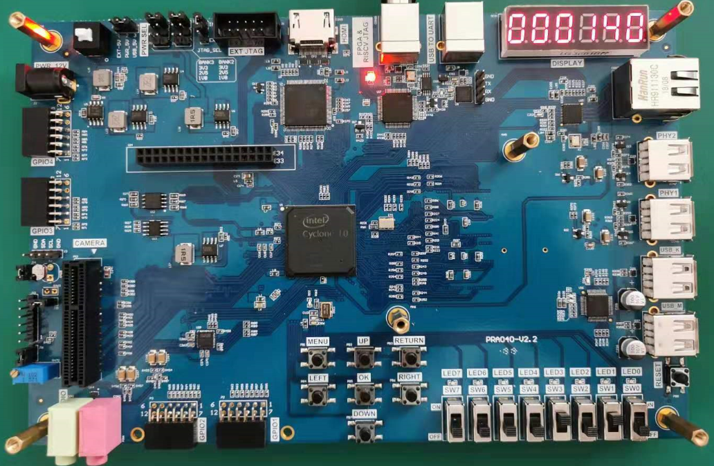 Altera Risc-V FPGA Tutorial : Hexadecimal Number to BCD Code Conversion and Application Experimental Results