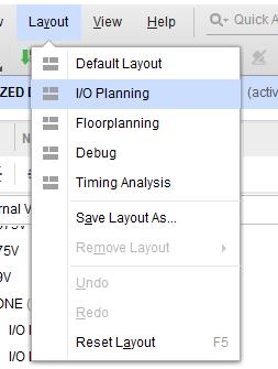 Excute I/O planning