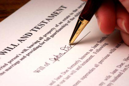 RHF Legal Wills