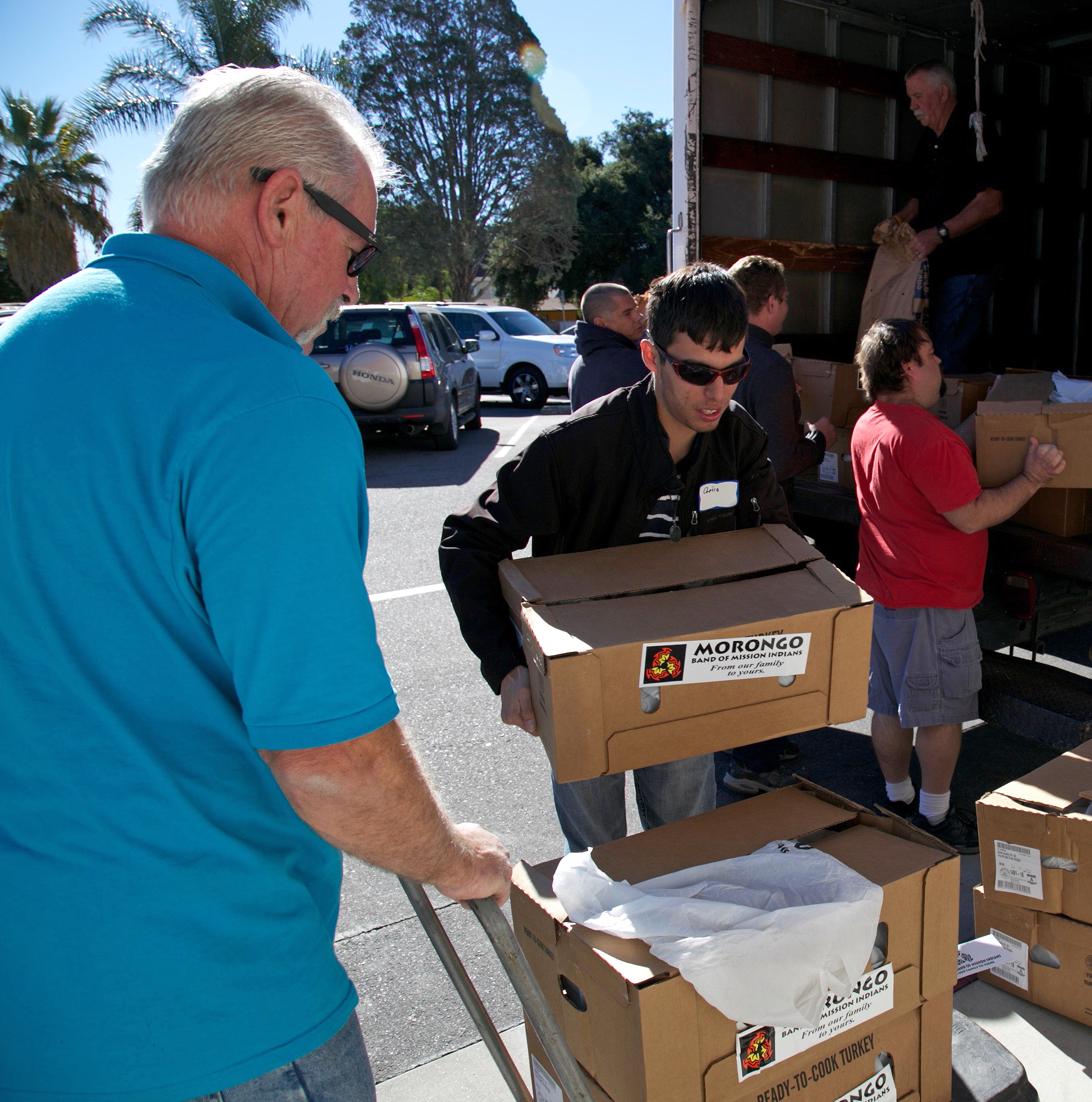 Aktion Club Gives Back to Families in Need for Thanksgiving – Thank You!