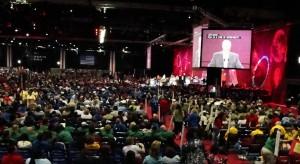 About 9000 delegates participated in the NEA Representative Assembly.