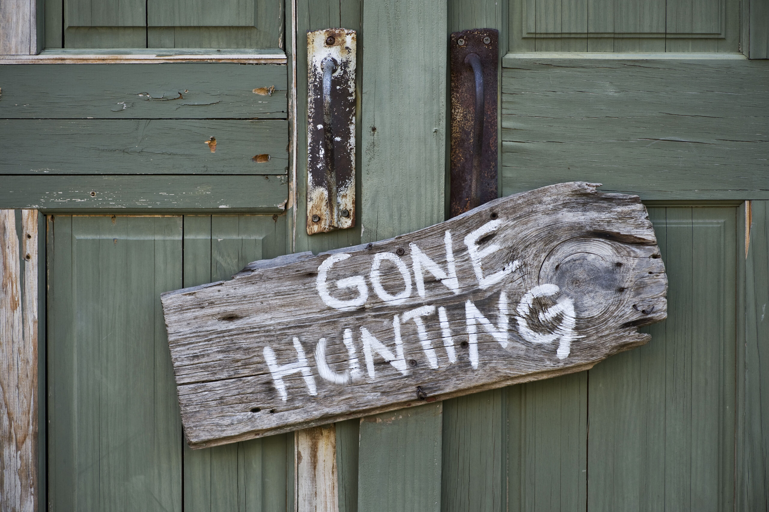 Gone Hunting.
