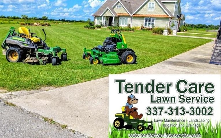 Tender Care Lawn Services | Excellent Services Landscaping Lake Charles
