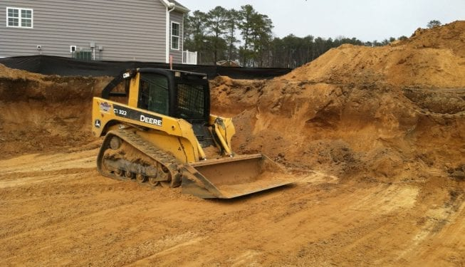 Tender Care Lawn Services   Dirt Work On New Construction Sites