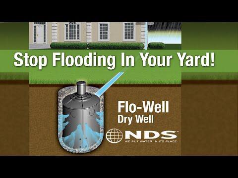 Tender Care Lawn Services   Custom Drainage Solutions - Dry Wells