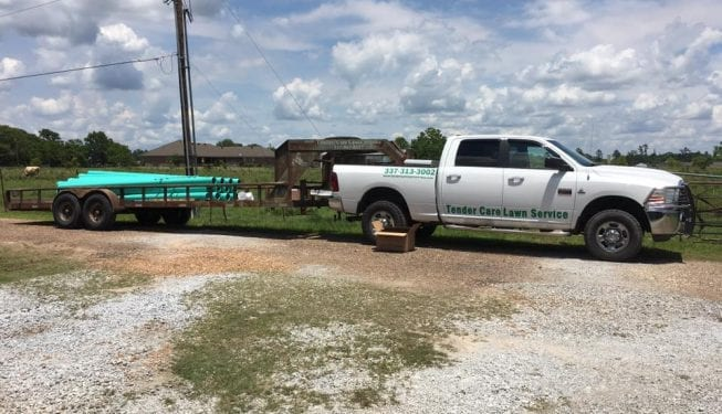 Tender Care Lawn Services   Custom Drainage Solutions Equipment