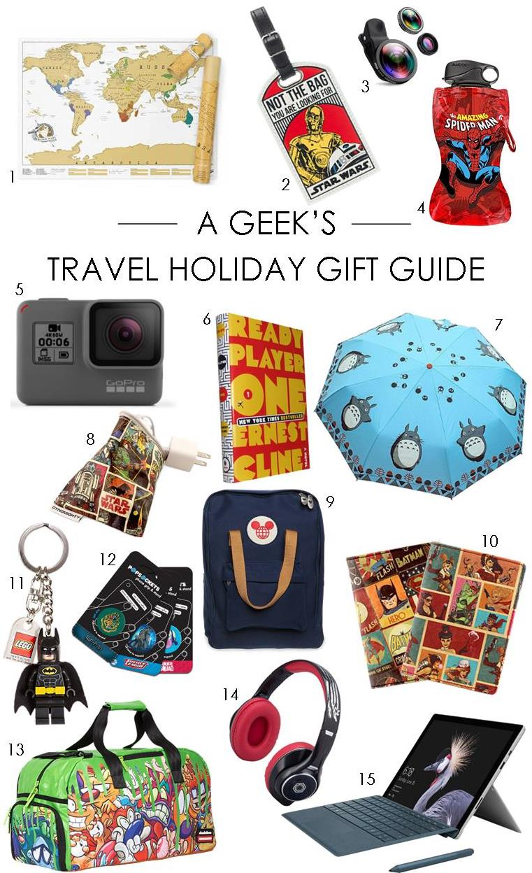 A Geek's Travel Holiday Gift Guide
