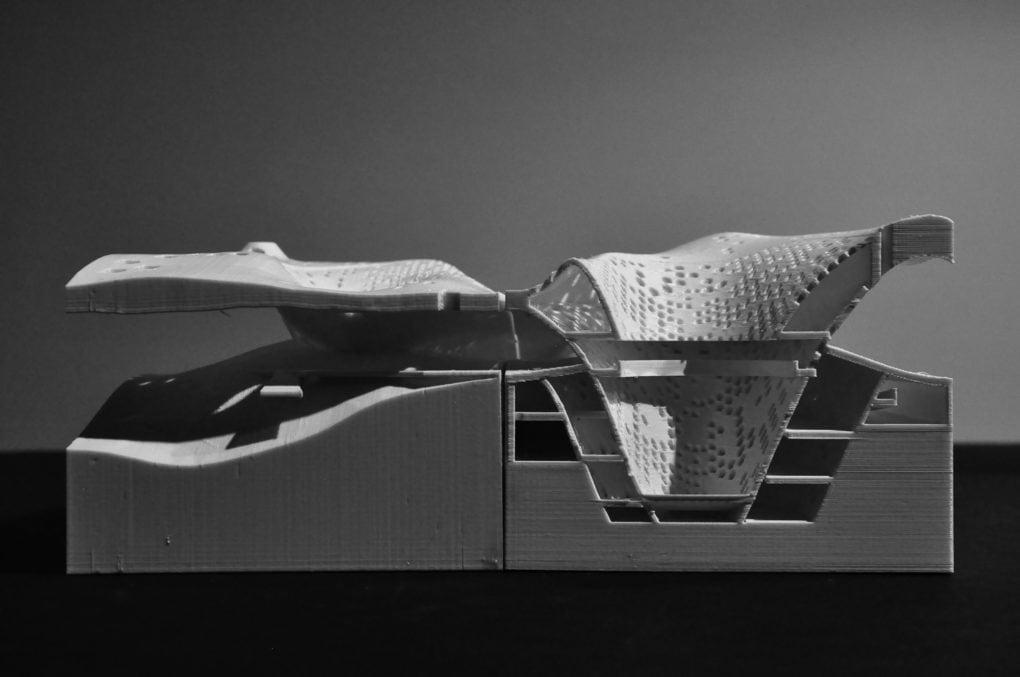 MEMORIAL PIER, Liz Lin + Zhao Gao, Fall 2013