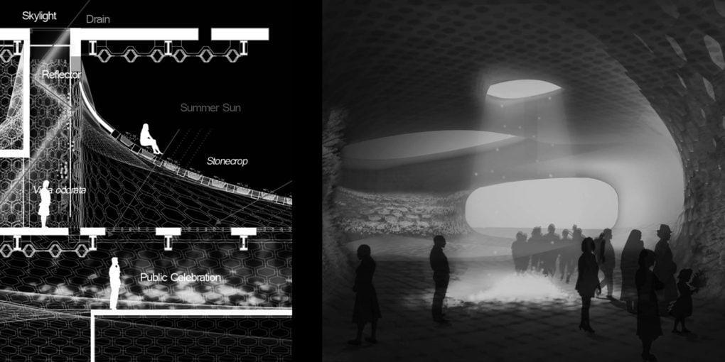 CALIBRATED MEMORIAL POROSITY, Byeongil Lee + Monnet Chung, Fall 2011