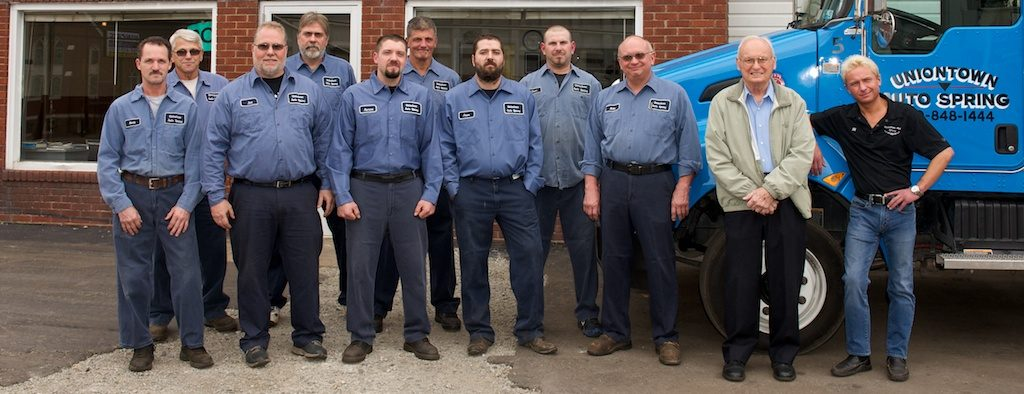 Uniontown Auto Spring has been a family business for 100 years. It's incredible and these guys are the greatest business professionals.