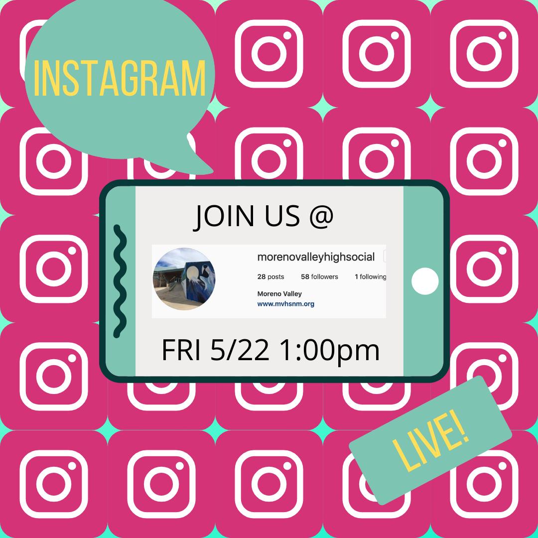 instagram live promo