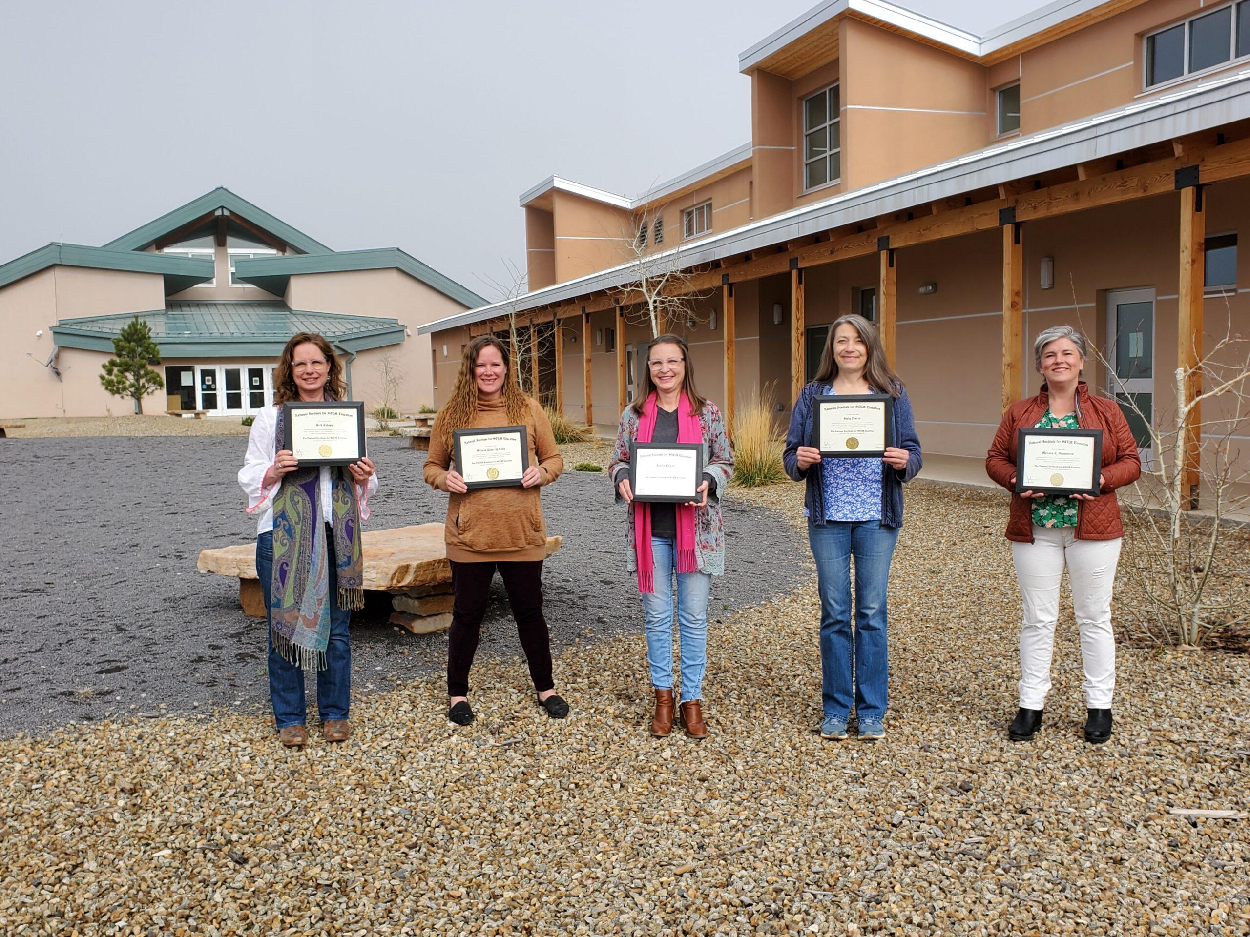 MVHS teachers earn their National Certificate for STEM Teaching