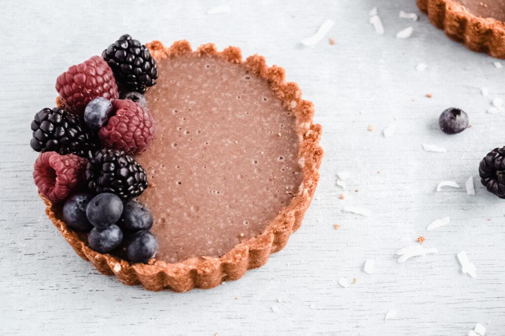 Coconut Acai Berry tarts