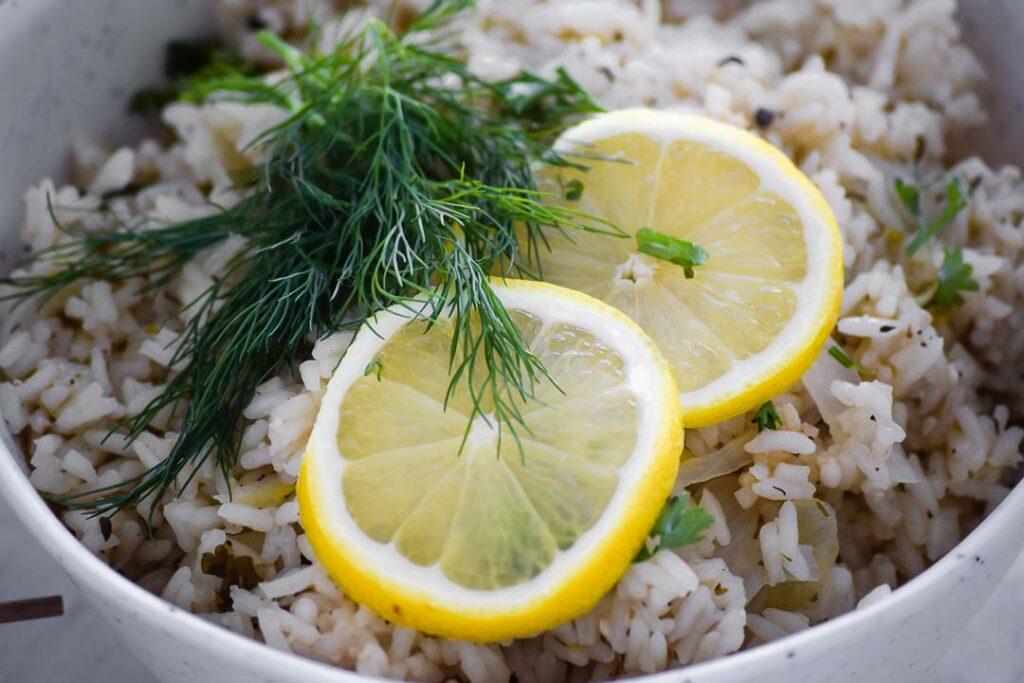 Greek Lemon Rice