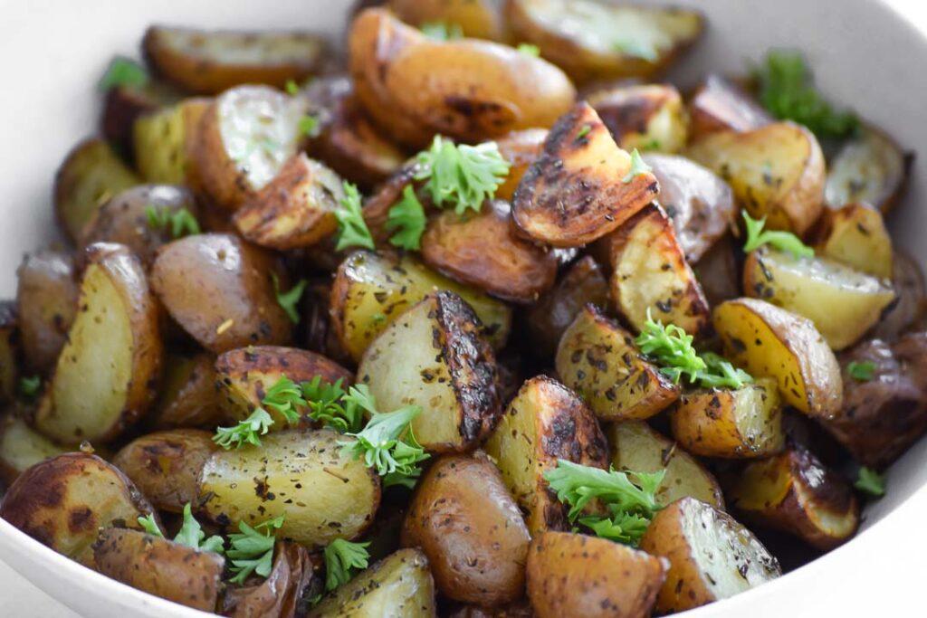 Greek Roasted Red Potatoes