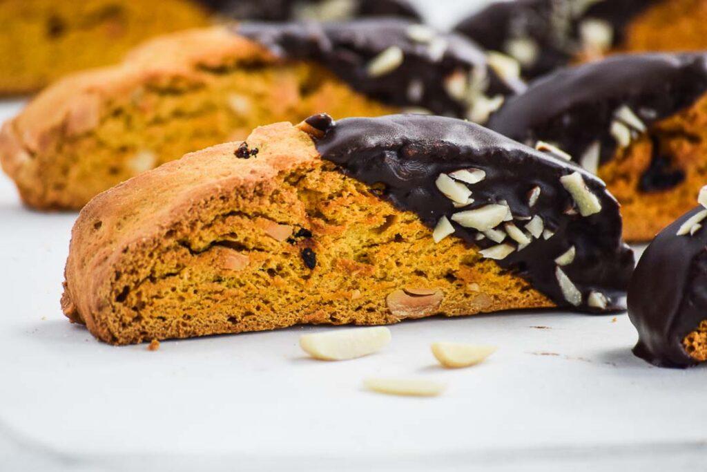 Pumpkin Spice Biscotti