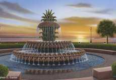 Pineapple Fountain