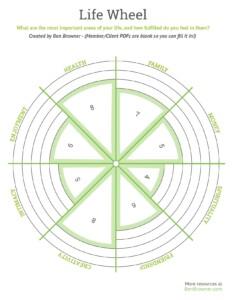 -The Life Wheel-