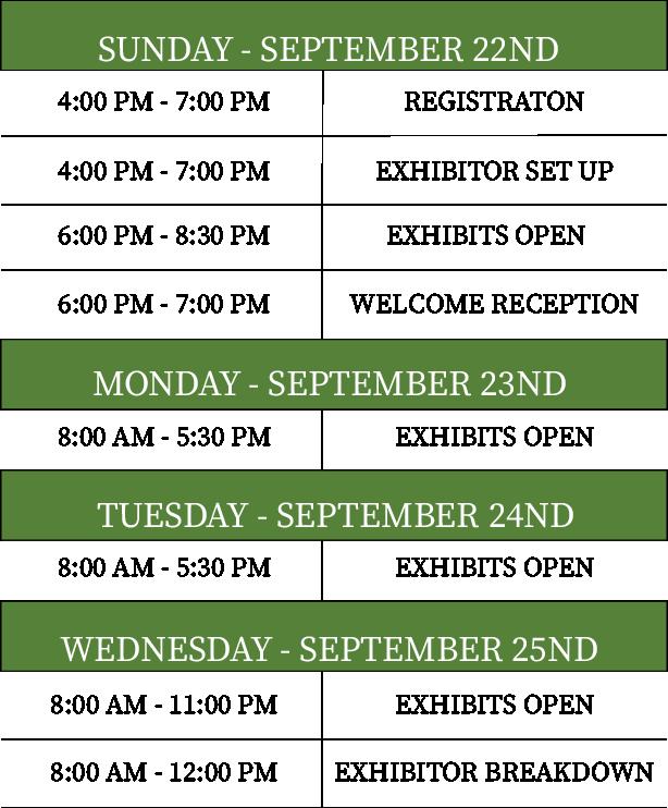 Website Schedule