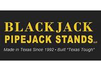 Blackjack Pipejack Stands logo