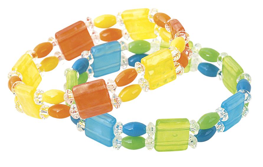 Slide Bead Bracelets