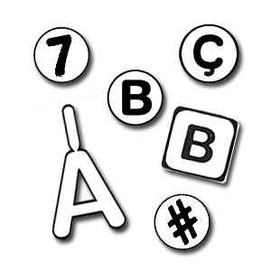 Letters & Numbers