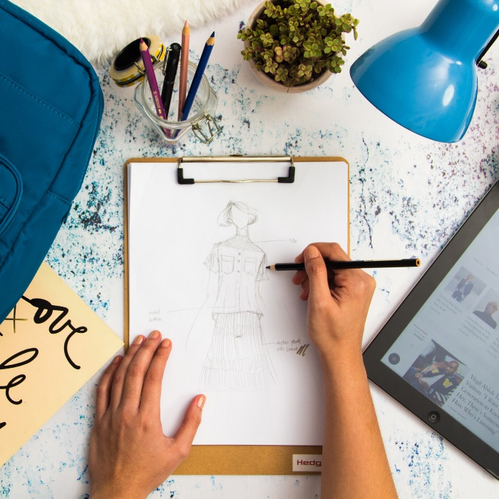 Learn to draw be a fashion designer art class for kids and youth with Create Art Studio