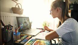 Create Art Studio Online Art Classes for Youth Tweens and Teens