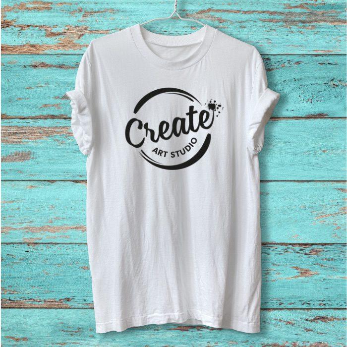 Create Art Studio Online Virtual Birthday Party tshirt decorating for tweens and teens