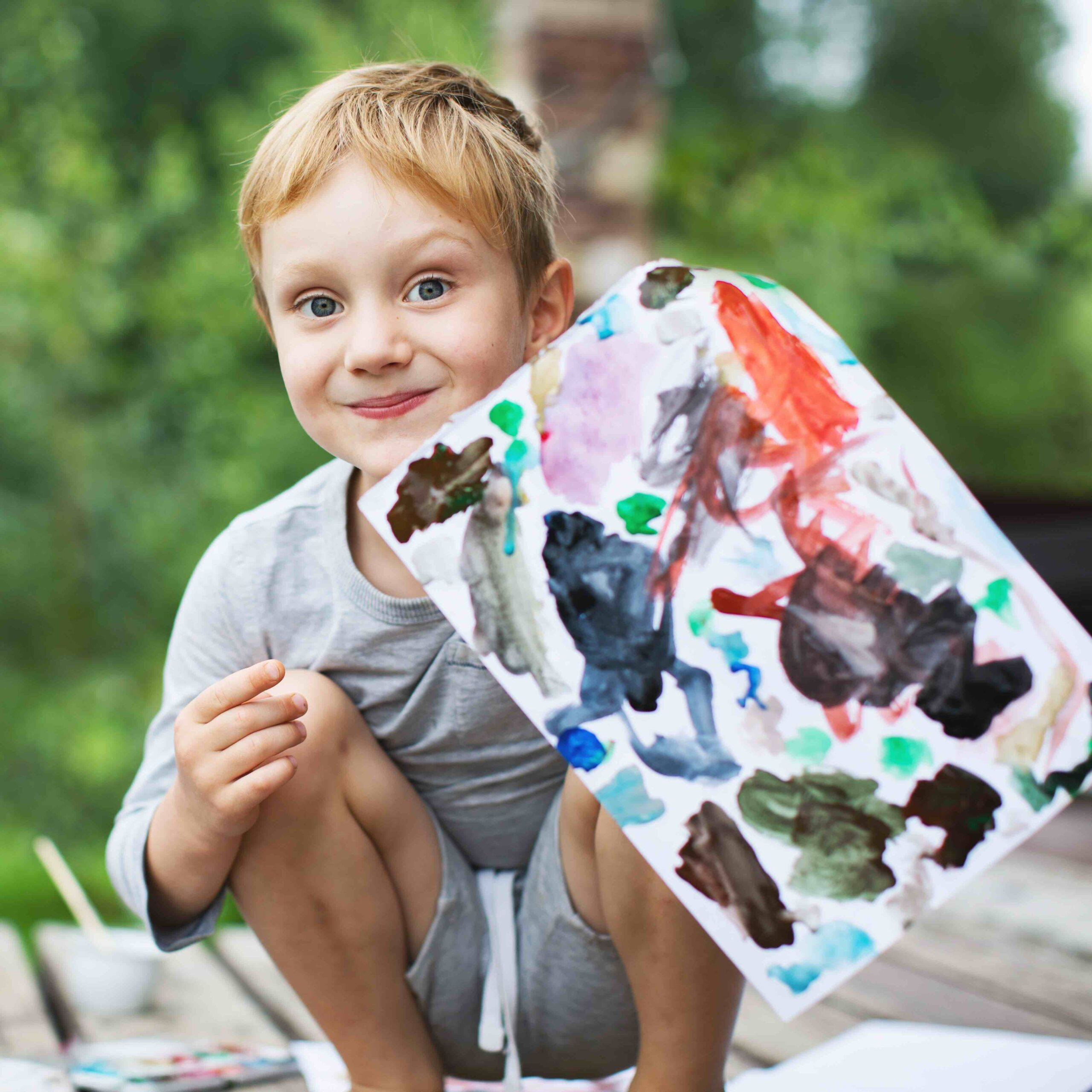Create Art Studio Summer Camp for kids aged 6 to 10 art and outdoor fun camp