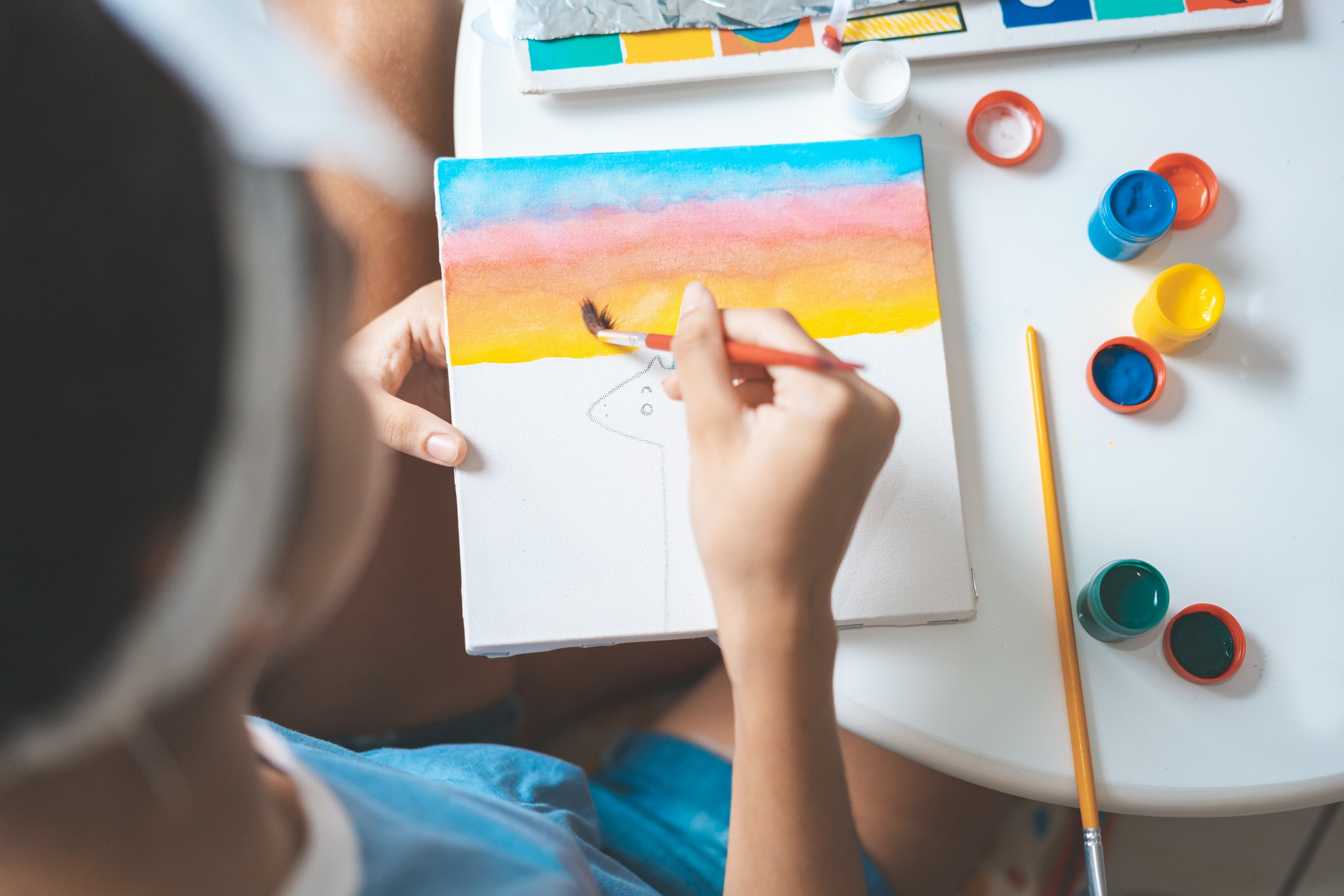 Create Art Studio In-person art classes for teens and youth and tweens at Toronto's best art school